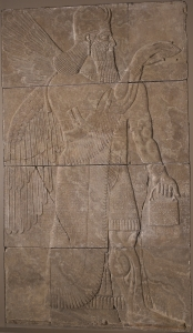 Assyrian Purse in relief