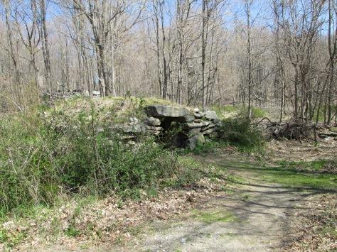 Exterior Ninham Mountain Stone Chamber