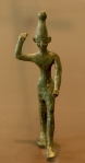 Baal, a Statute from Ugarit.14th to 12th BC. Louvre, Wikipedia,