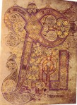 Book of Kells, Chi Rho Page. PD.