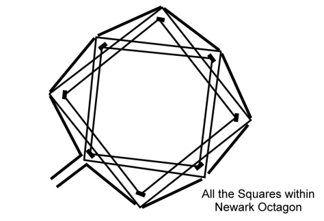 All the Squares within Newark Octagon