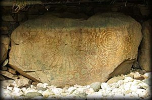 Knowth Kerbstone 15. Photo by Megalithic Ireland.