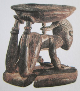 Ifa divination bowl of the Yoruba people.